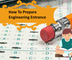 Engineering Entrance Exam preparation