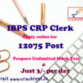 IBPS CRP Clerks -IX Online Form 2019 for 12075 vacancies