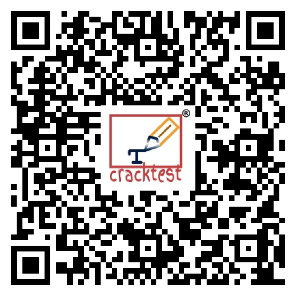 Scan to download Cracktest online test preparation app