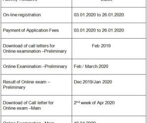 SBI Clerks Recruitment Notification 2020 Online Form for 8134 vacancies